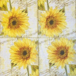 Napkin Sunflower