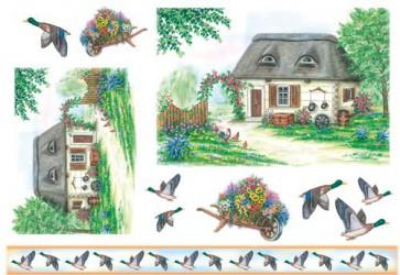 Ryžinis popierius - namas