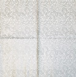 Servetėlė Ornamentai sidabriniai