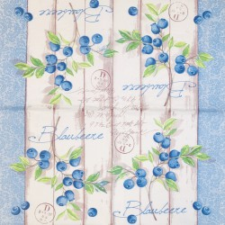 Napkin Blueberries