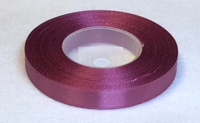 Satin Ribbon Plum (1,2cm, 32m)