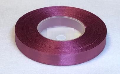 Satininės juostelė Bordinė/Plum (1,2cm pločio, 32m)