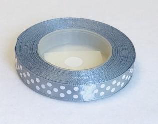 Satin Ribbon Silver (1,2cm, 18m)