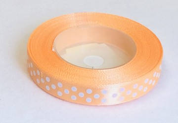 Satin Ribbon Salmon (1,2cm, 18m)