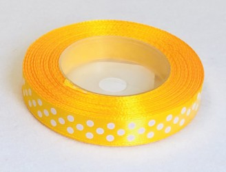 Satin Ribbon Dark yellow (1,2cm, 18m)