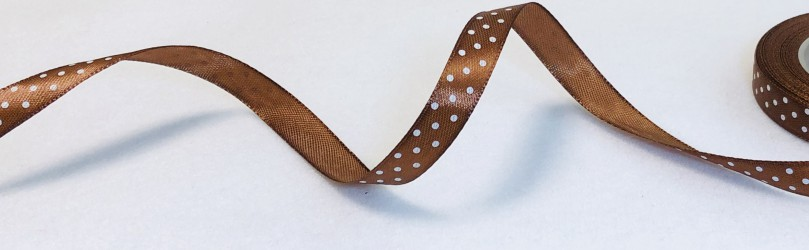 Satin Ribbon Brown (1,2cm, 1m)