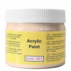 Matiniai akriliniai dažai Kreminė (300 ml)