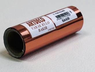 Roll foil Copper (10 cm width, 5m)
