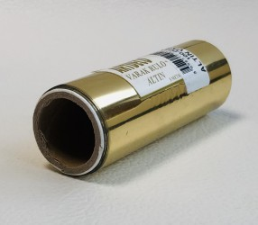 Roll foil Gold (10 cm width, 5m)