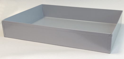 Metallic Tray 25 cm x 35 cm