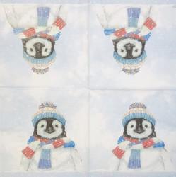 Servetėlė Pingvinas