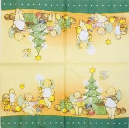 Servetėlė Kalėdų vaikai