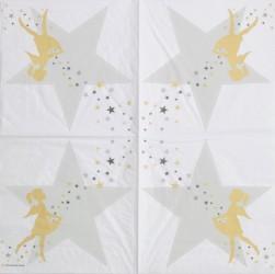 Napkin Girl with stars