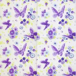 Servetėlė Drugeliai (violetiniai)