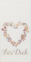 Popierinė nosinaitė Širdis