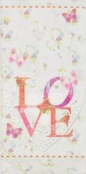 Popierinė nosinaitė Meilė