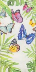Popierinė nosinaitė Džiunglių drugeliai
