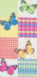 Popierinė nosinaitė Drugeliai