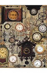 Ryžinis popierius Laikrodžiai