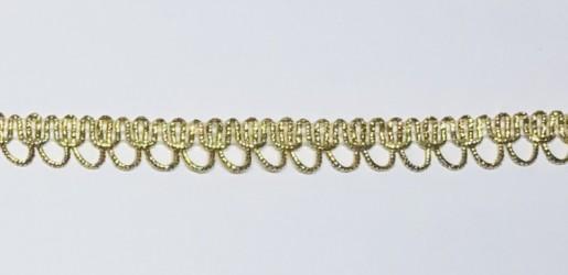Juostėlė Auksinė (1 m, 1,2 cm)