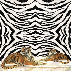 Rice napkin - Tiger