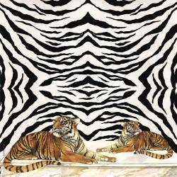 Ryžinė servetėlė - tigras