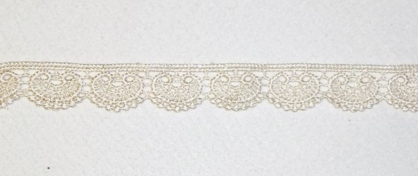 Lace trim Cream 2,5 cm
