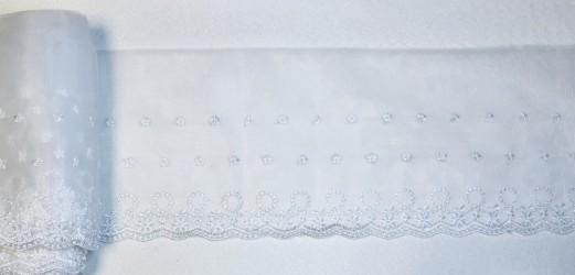 Juostelė balta (15 cm pločio, 1 m)