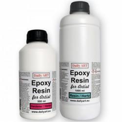 Epoksidinė derva + Kietiklis (1000 ml + 500 ml)