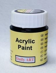 Matiniai akriliniai dažai Juoda (25 ml)
