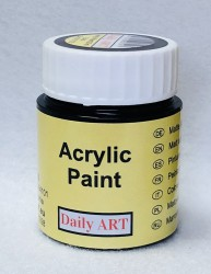 Matt acrylic paint Black 25 ml