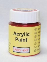 Matiniai akriliniai dažai Raudona (25 ml)