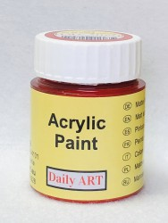 Matt acrylic paint Red 25 ml