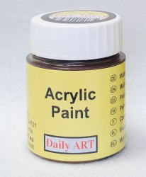 Matt acrylic paint Chocolate 25 ml