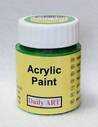 Matt acrylic paint Leaf green 25 ml