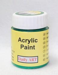 Matiniai akriliniai dažai Žalia (25 ml)
