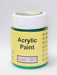 Matt acrylic paint Green 25 ml