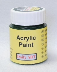 Matt acrylic paint Dark green 25 ml