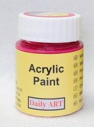 Matiniai akriliniai dažai Karminė (25 ml)