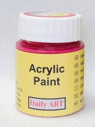 Matt acrylic paint Carmine 25 ml