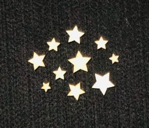Žvaigždutės (10 vnt)