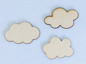 Clouds (3 pcs)