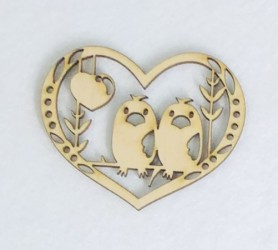 Paukšteliai širdelėje