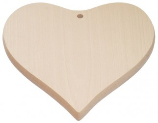 Cutting board - heart