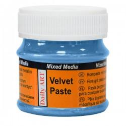 """Paint """"velvet effect"""" - sapphire (50 ml)"""