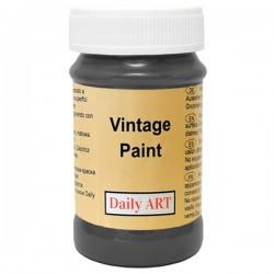 Chalky Acrylic paints Black (100 ml)