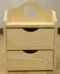 Dėžutė (2 stalčiai)