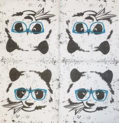 Servetėlė Panda
