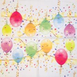 Napkin Ballons
