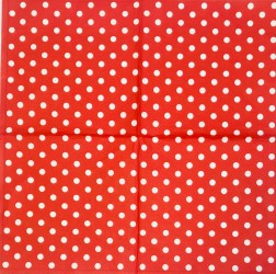 Napkin Red dots